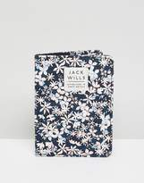 Jack Wills Whitby Floral Passport Holder