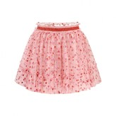 Gucci GUCCIGirls Pink Glitter Spotted Tulle Skirt