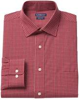 Croft & Barrow Men's Classic-Fit Easy Care Solid Spread-Collar Dress Shirt