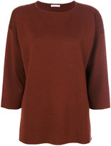 Fabiana Filippi draped boat neck top