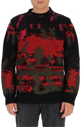 Les Hommes Chunky Knit Jumper