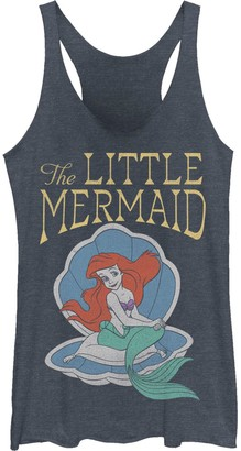 Licensed Character Juniors' Disney's The Little Mermaid Ariel Shell Portrait Tank