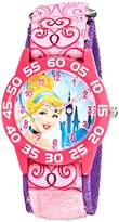Disney Kids' W001671 Cinderella Analog Display Analog Quartz Watch