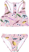 Stella McCartney printed bikini - kids - Polyester/Spandex/Elastane/Polyimide - 14 yrs