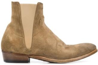 Silvano Sassetti Low Heel Ankle Boots