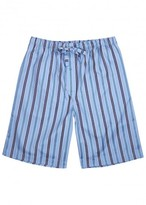 Derek Rose Mayfair Striped Cotton Shorts