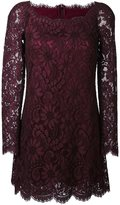 Dolce & Gabbana floral lace mini dress - women - Silk/Cotton/Nylon/Viscose - 44