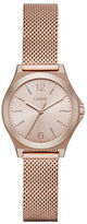 DKNY Parsons Rose Goldtone Stainless Steel Mesh Strap Watch, NY2489