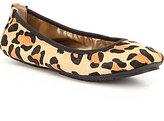 Me Too Adam Tucker by Icon9 Calf Hair Jaguar-Print Slip-On Ballet Flats