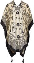 Lvs Collections LVS Collections Women's Kimono Cardigans A - Elephant Tassel-Accent Kimono - Women