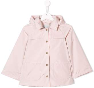 Herno hooded trench jacket