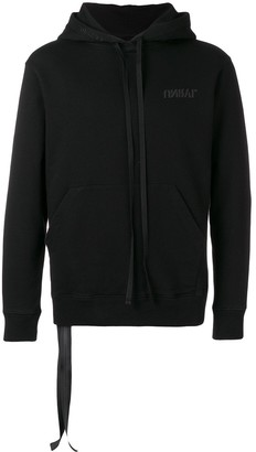 Unravel Project graphic knitted hoodie