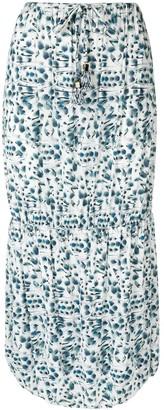 Fendi Pre Owned Floral Print Skirt