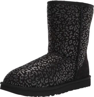 UGG Women's Classic Short Snow Leopard Boot