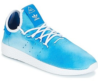 adidas PW TENNIS HU J girls's Shoes (Trainers) in Blue