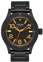 Nixon Men's Bracelet Watch, 46Mm