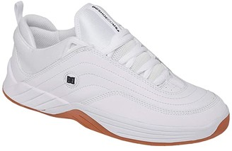 DC Williams Slim (White/Gum) Men's Skate Shoes