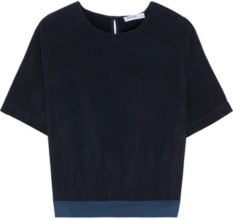 Stateside Washed-cupro Top