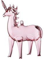 CB2 Pink Unicorn Ornament