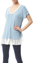 Easel Blue Flare Top