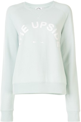 The Upside Bondi logo print sweatshirt