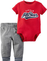 Carter's 2-pc. Red All Star Bodysuit and Pants Set - Baby Boys newborn-24m