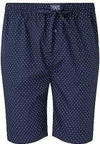 Polo Ralph Lauren Woven Cotton Polka Dot Lounge Shorts, Navy