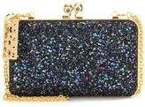 Sophie Hulme Sidney glitter box clutch