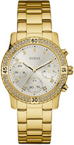 GUESS Women's Gold-Tone Stainless Steel Bracelet Watch 37mm U0851L2
