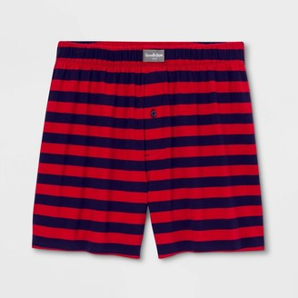 Men' Rugby triped Knit Boxer Brief - Goodfellow & CoTM