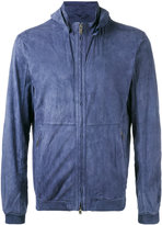 Desa Collection - hooded bomber jacket - men - Calf Leather - 54
