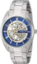 Kenneth Cole New York Men's Automatic Stainless Steel Casual Watch, Color:Silver-Toned (Model: KC50064003)