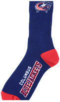 For Bare Feet Columbus Blue Jackets Deuce Crew 504 Socks
