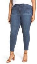 Melissa McCarthy Pencil Leg Jeans (Bitter) (Plus Size)