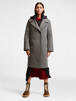 DKNY Pure Wool Flannel Peacoat