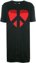 Love Moschino T-shirt logo dress