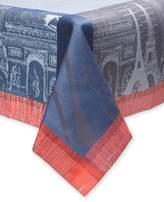 Garnier Thiebaut Garnier-Thiebaut Parisienne Ardoise Cotton Tablecloth