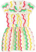 Billieblush Girl's Chevron Print Dress
