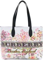 Burberry large Doodle tote bag