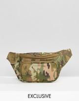 Reclaimed Vintage Inspired Camo Bum Bag