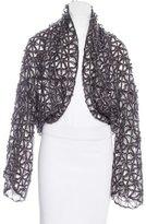 Sportmax Open Knit Long Sleeve Cardigan