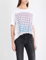 Diesel Rachel graphic-print cotton-jersey T-shirt