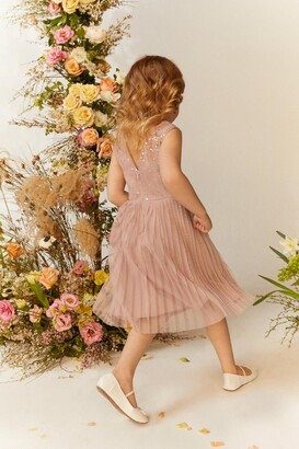 Coast Girls Sequin Pleated Skirt Dress