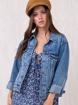 Levi's New Women's Ex-Boyfriend Trucker Denim Jacket