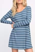 RVCA Striped Swing Dress
