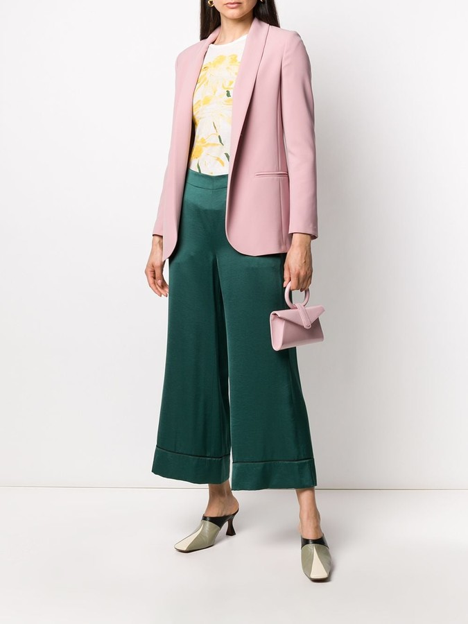 Thumbnail for your product : Blanca Vita Loose-Fit Open-Front Blazer