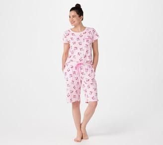 Carole Hochman Cotton Summer Bermuda Short Pajama Set