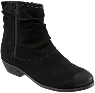 SoftWalk Leather Slouch Boots - Rochelle