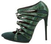 Balenciaga Python Cage Sandals