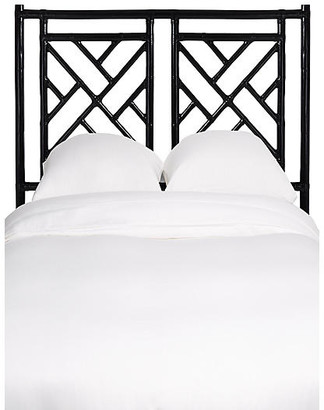 David Francis Furniture Chippendale Kids' Headboard - Black